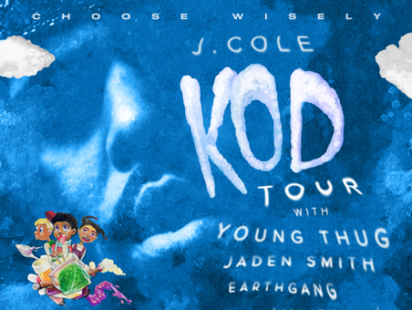 Here's A Sneak Peak Into J. Cole's K.O.D. Tour With Young Thug, Jaden Smith & Earthgang