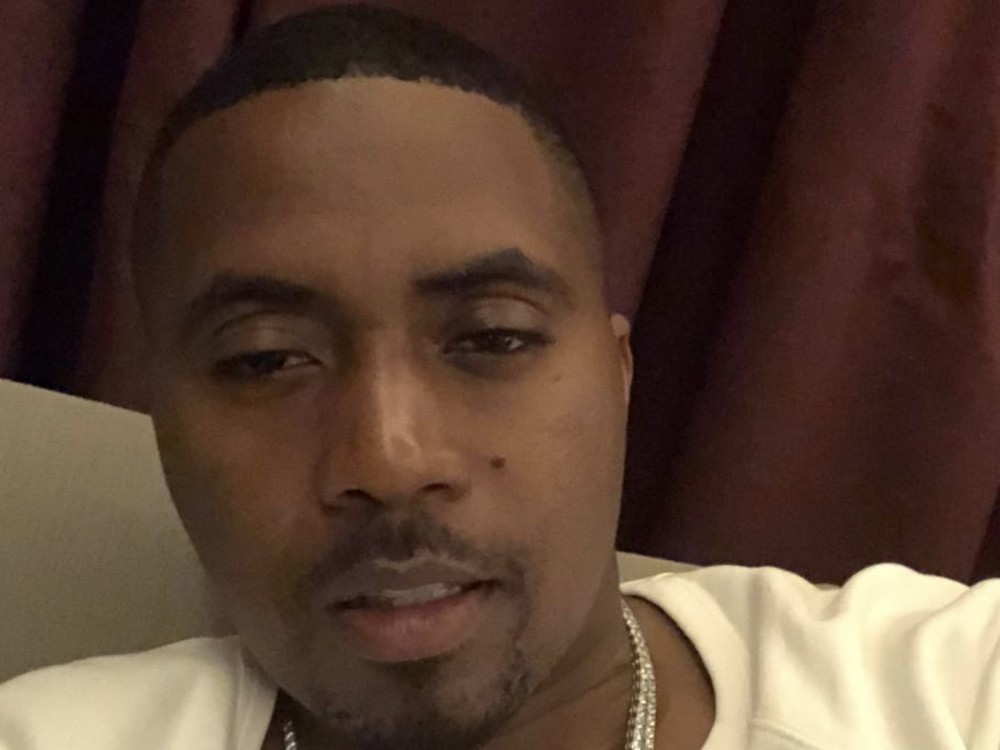 Nas Is Quietly Perfecting His Selfie-Taking Skills –