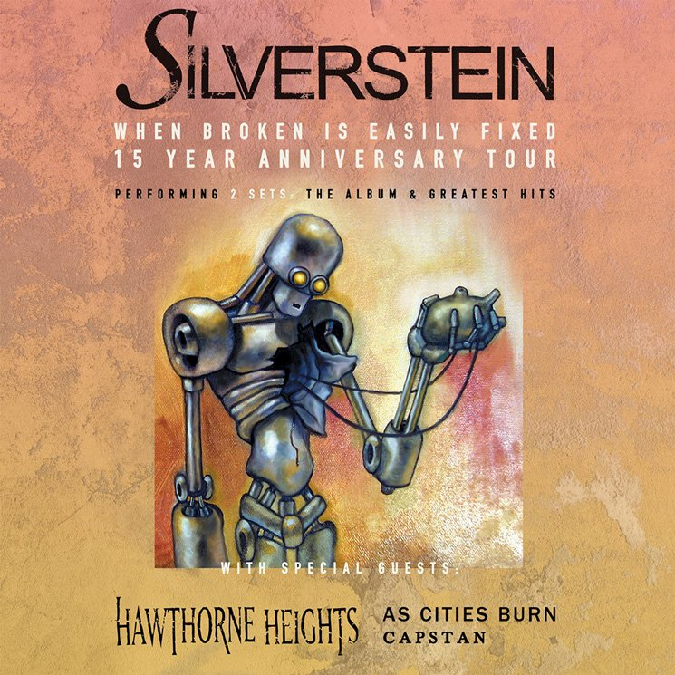 Silverstein Take 'When Broken Is Easily Fixed' on 15th Anniversary Tour