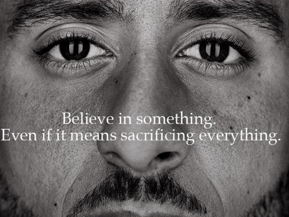 """Colin Kaepernick Lands New Nike Campaign: """"Believe In Something Even If It Means Sacrificing Everything"""" –"""