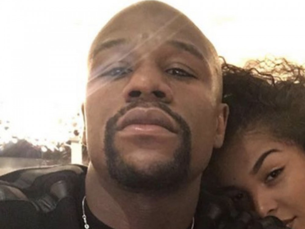 """Floyd Mayweather Jr. Swings Back At 50 Cent, Curtis Jackson Responds: """"Biggest Fan Or My Biggest Groupie?"""" –"""
