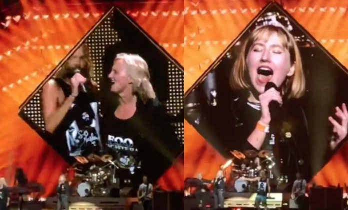 "Foo Fighters Playing ""Under Pressure"" With Mom & Daughter Is Adorable"
