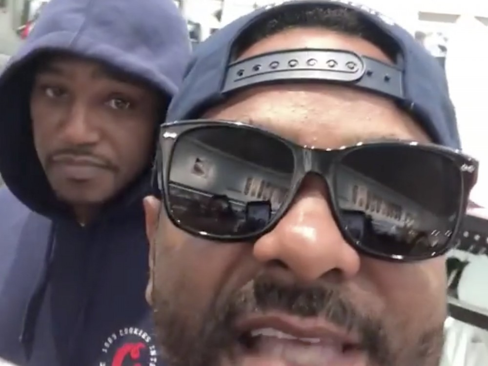 Jim Jones & Cam'ron Flex Their Dipset Goals In Fresh AF Diplomat Gear –