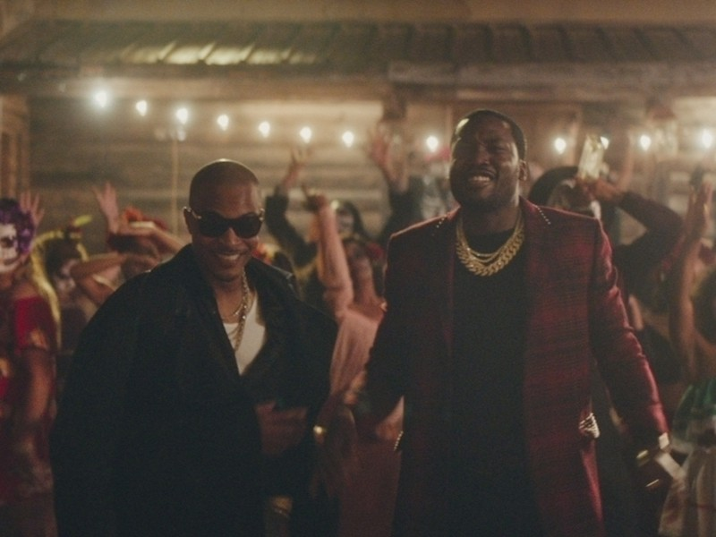 "T.I. & Meek Mill Party With The Living Dead In ""Jefe"" Video"