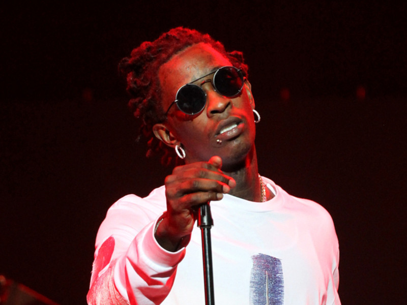 Young Thug Booked For Felony Drug Charges