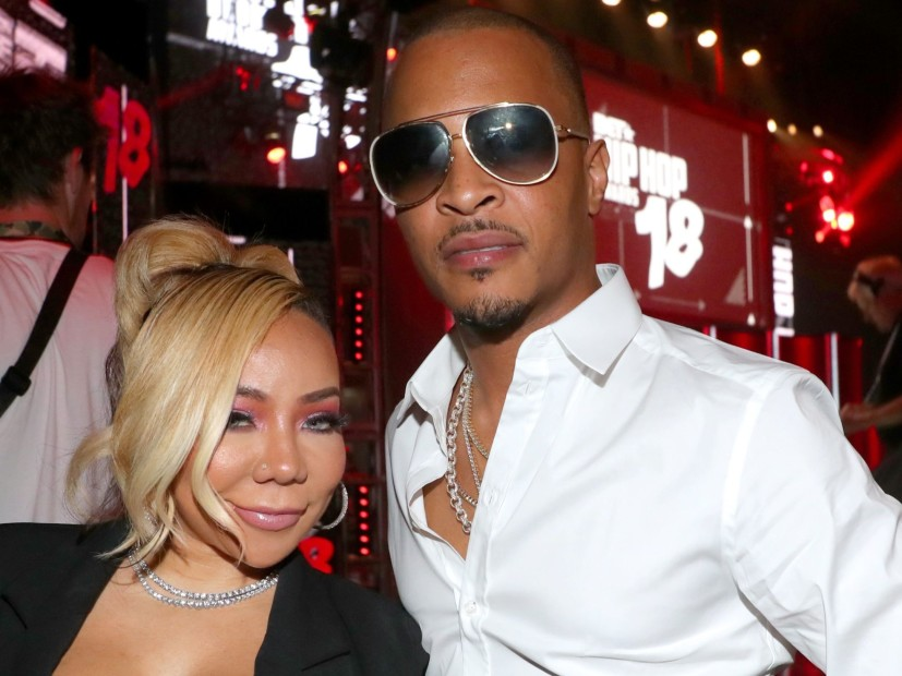 Tiny Checks T.I. For Grabbing Another Woman's Ass