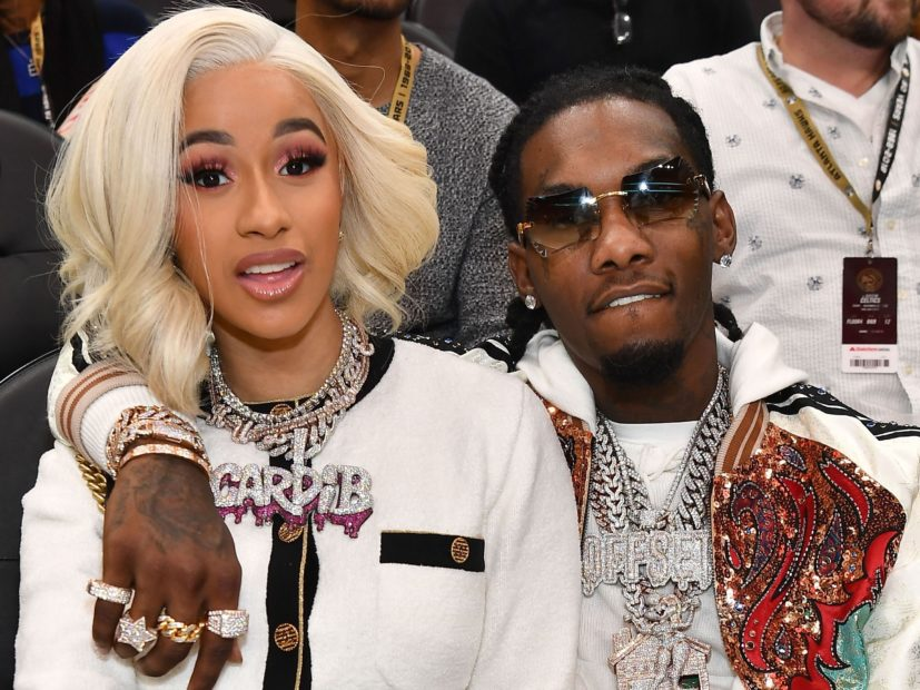 Cardi B Supports Offset's Solo Album With NSFW Video Message