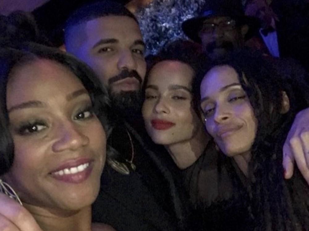 Drake Flexes His Pre-Christmas Mob Ties Draped As Don Corleone –