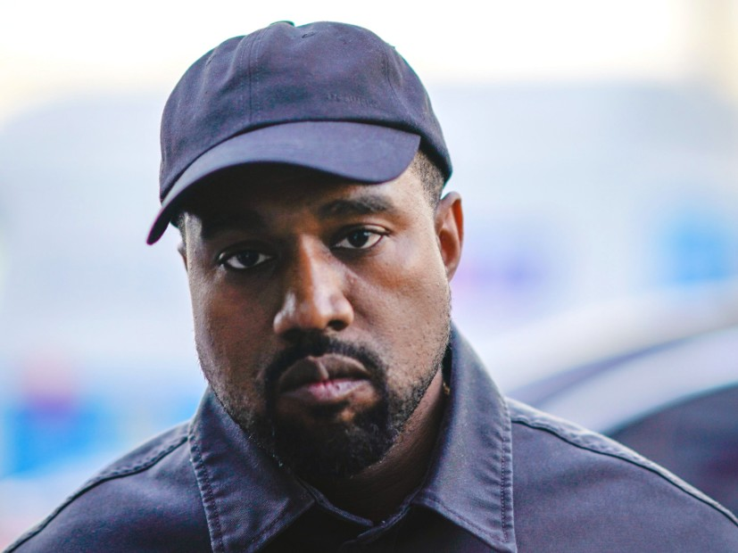 Kanye West Literally Runs Away From Drake Questions
