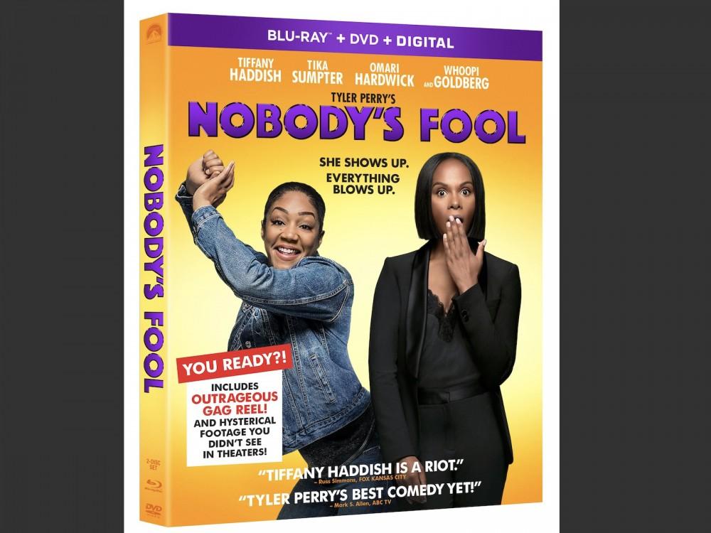 Tyler Perry's NOBODY'S FOOL Blu-Ray/Digital HD Release Date Revealed –
