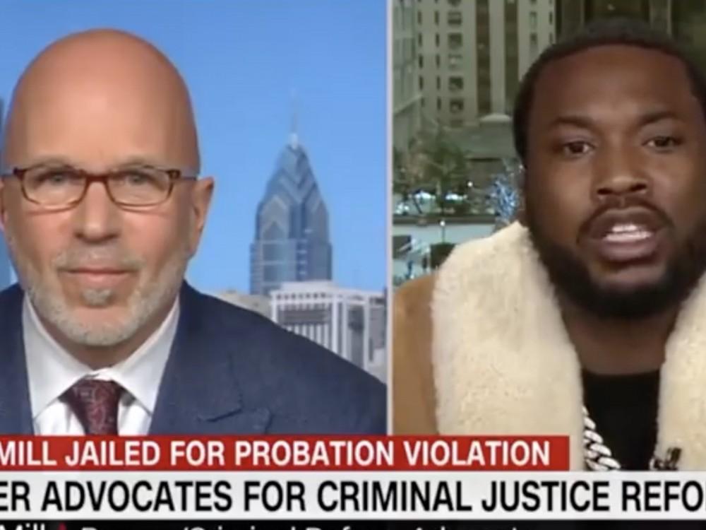Watch: Meek Mill Checks CNN Host W/ Facts –