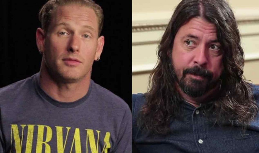 Dave Grohl & Corey Taylor Photo Before Injury Revealed, Slash Reaches Out