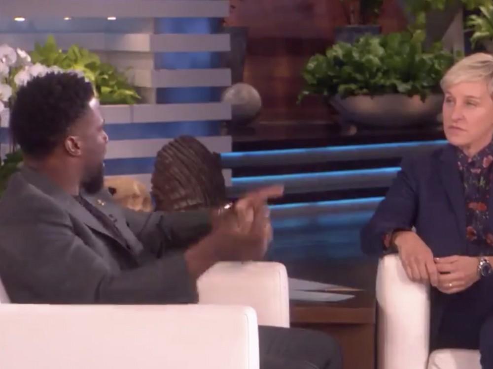 Ellen DeGeneres Defends Kevin Hart & Asks Academy To Reconsider Him Hosting Oscars –