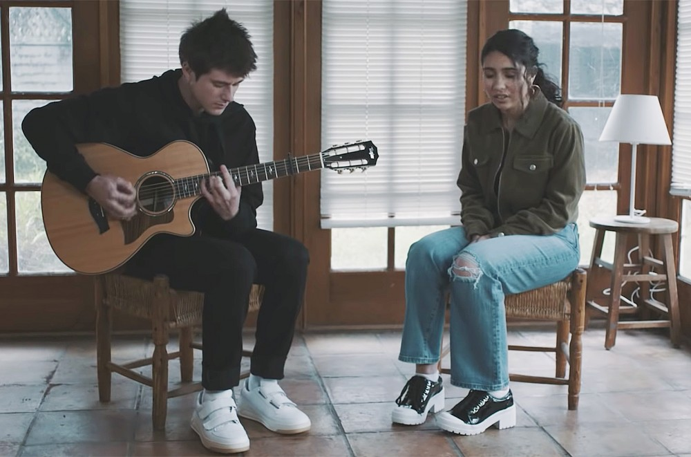 Alec Benjamin & Alessia Cara Release Acoustic Video for 'Let Me Down Slowly': Watch