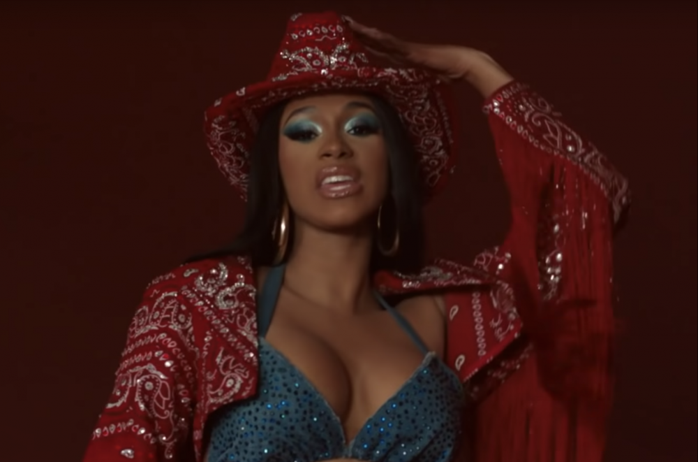 Cardi B Busts a Move With Blueface In 'Thotiana Remix' Music  Watch