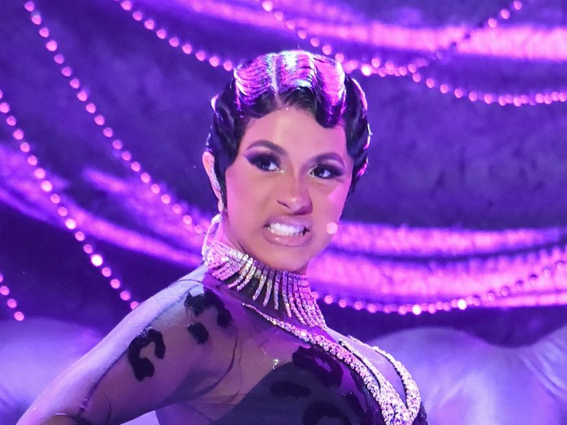 Cardi B Chastises Jussie Smollett While Scarfing Down Lobster Tails