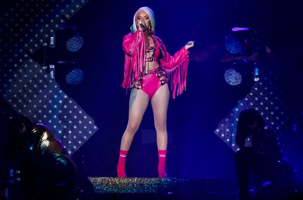 Cardi B Performs 'Girls Like You' in Atlanta Amid Super Bowl Halftime Show Rumors: Watch