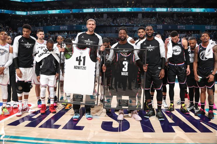 Dwyane Wade And Dirk Nowitzki Soak It All In At What Could Be Final All-Star Game