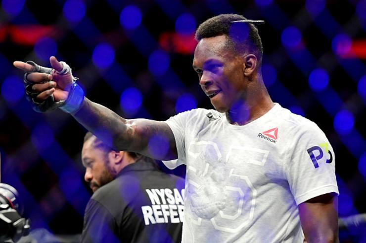 Israel Adesanya vs. Kelvin Gastelum Interim Title Fight Announced