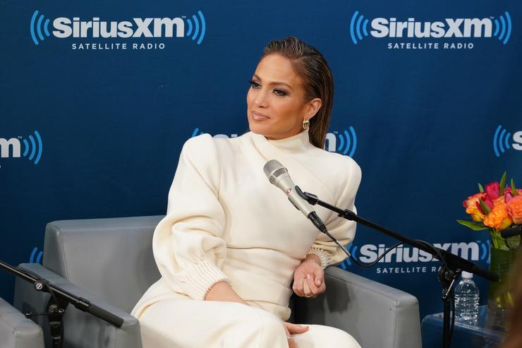 Jennifer Lopez Shows Off Her Curvaceous Frame During Shopping Spree With Kids