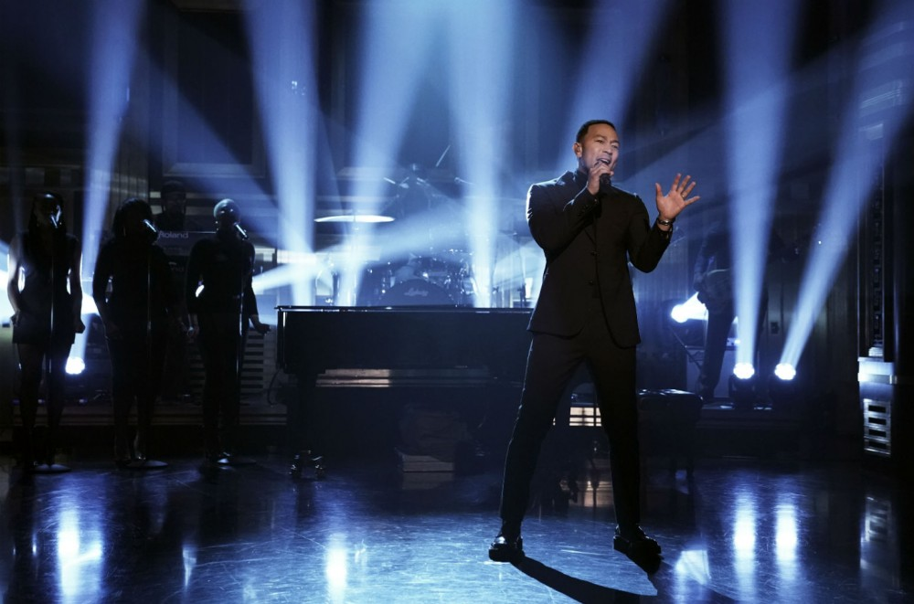 John Legend Performs 'Preach' With The Roots on 'The Tonight Show Starring Jimmy Fallon': Watch