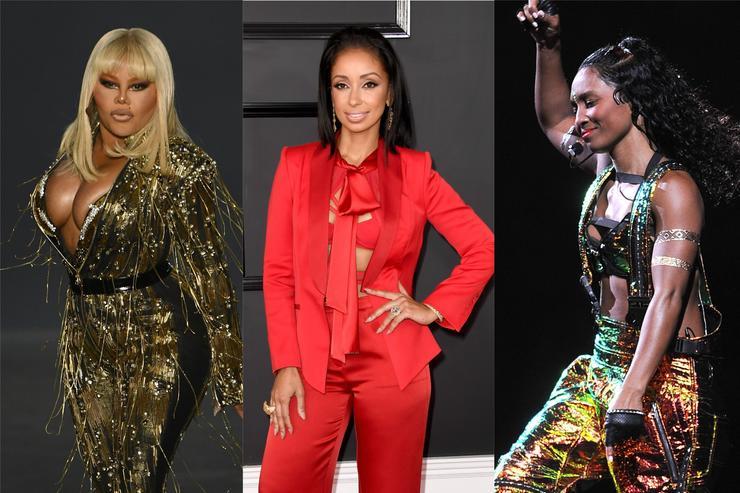 Lil' Kim, Mya & TLC's Chilli Reunite For New Project In Barbados