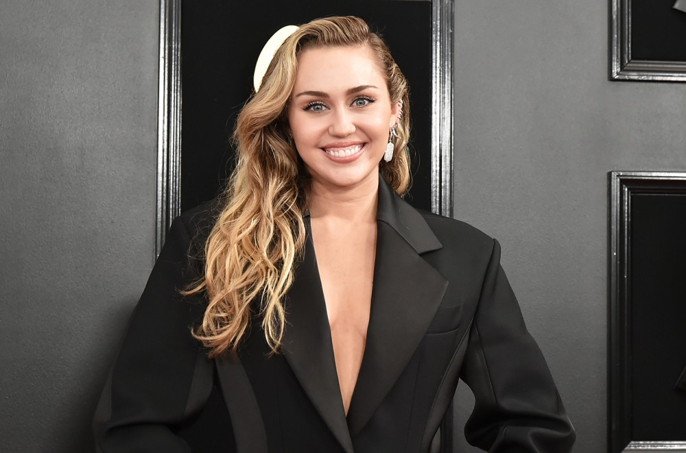 Miley Cyrus Shares Her Own Version Of Shawn Mendes' Shirtless Calvin Klein Ad