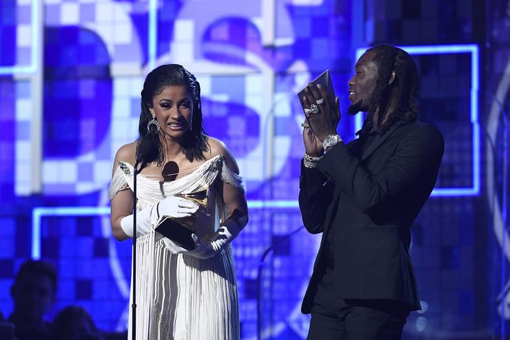 Offset Spoils Cardi B Rotten With Breakfast & Flowers After Grammy Win