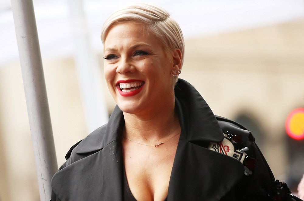 9e7749e0af0 P!nk to Receive Outstanding Contribution to Music Award on the 2019 ...