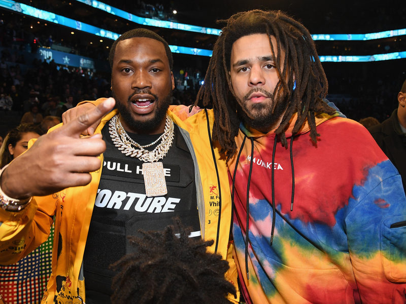 Watch J. Cole & Meek Mill Perform At 2019 NBA All-Star Game