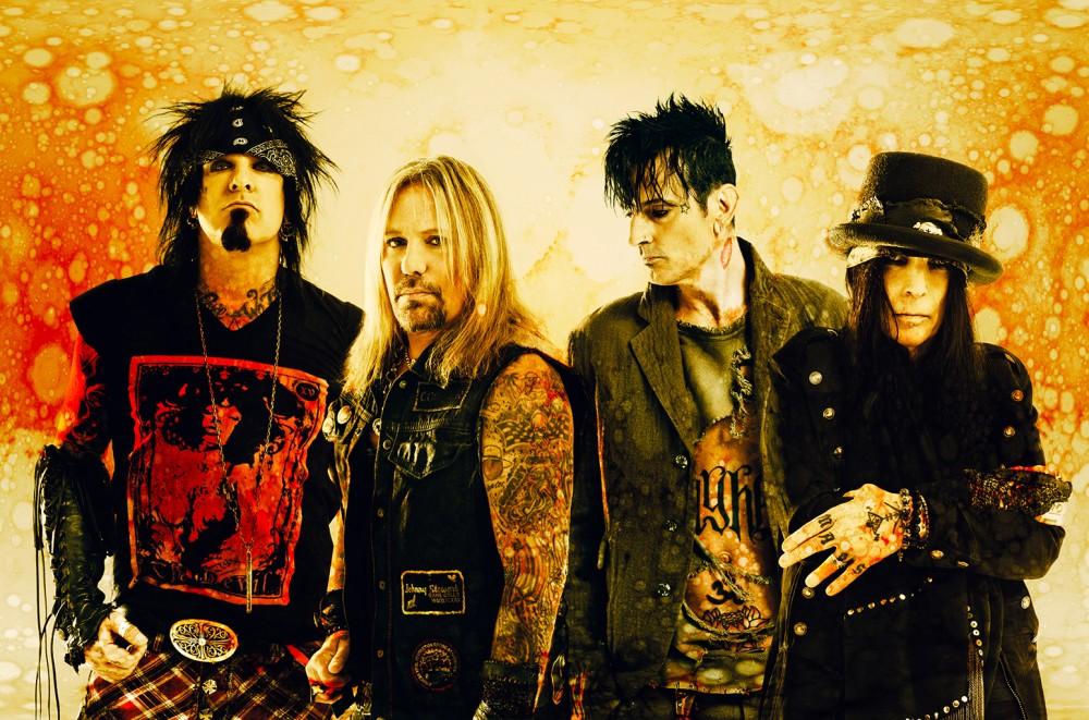 Mötley Crüe & Machine Gun Kelly Rip Through 'The Dirt (Est. 1981)': Listen