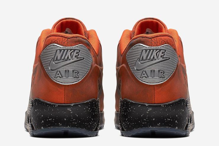 nike air max 90 mars stone & magma orange