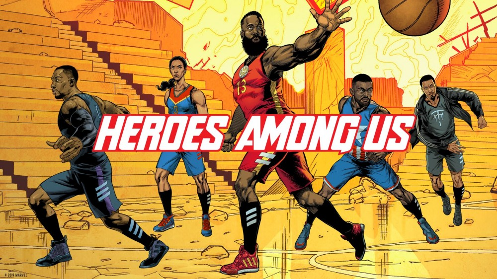 "Adidas Basketball x Marvel Introduce ""Heroes Among Us"" Collection"