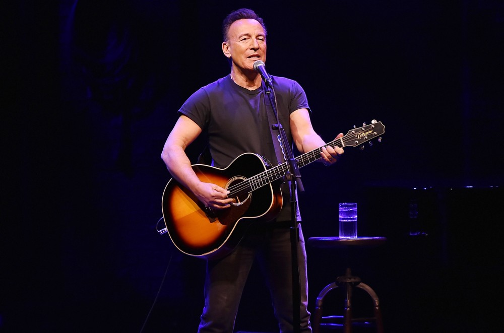 Bruce Springsteen Surprises Crowd at New York Benefit Show