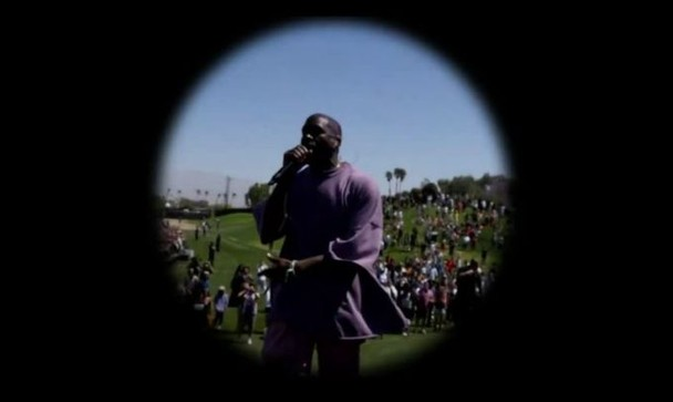 """Coachella 2019: Kanye West Performs New Song """"Water"""" At Easter Sunday Service"""