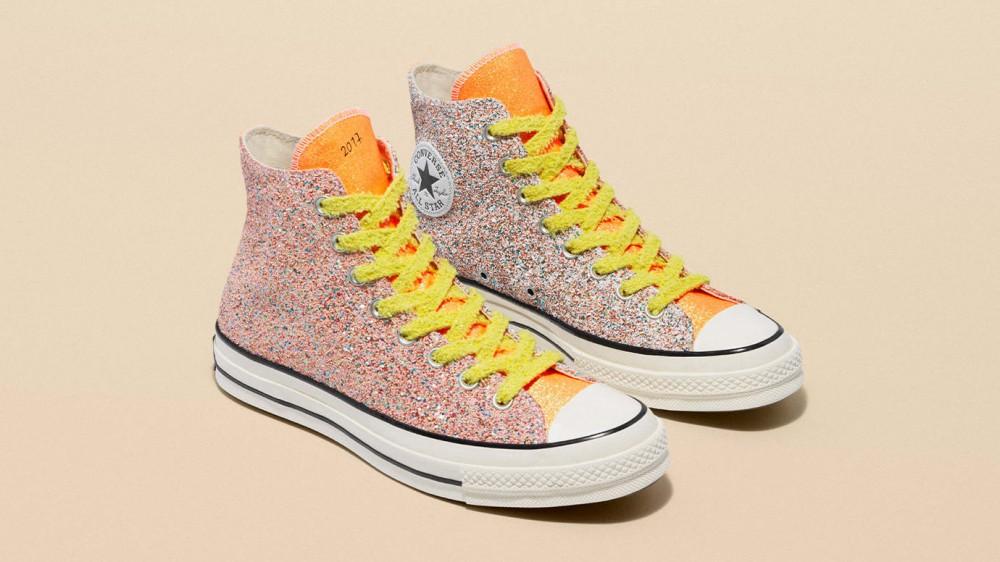 Converse Taps JW Anderson For Three Glittery Chuck 70