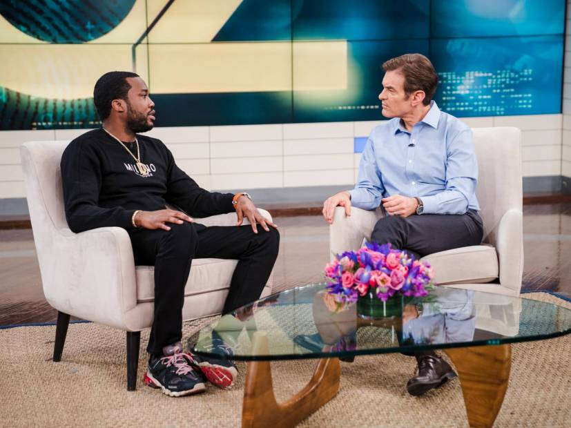 "Meek Mill Talks Parole System & ""The Two Americas"" On ""The Dr. Oz Show"""