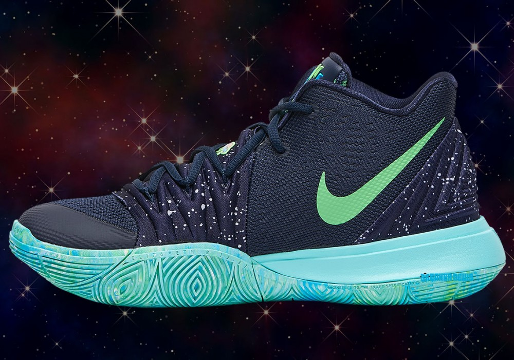 "Nike Kyrie 5 ""UFO"" Features Illuminati Logo: Detailed Images"