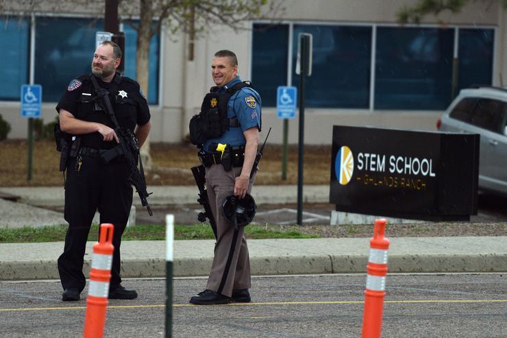 Colorado STEM School Shooting Leaves 8 Injured, 2 In Custody
