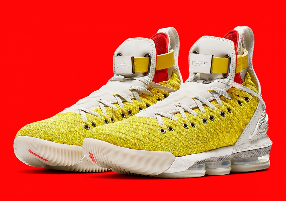 "Harlem's Fashion Row x Nike LeBron 16 Releasing In ""Bright Citron"""