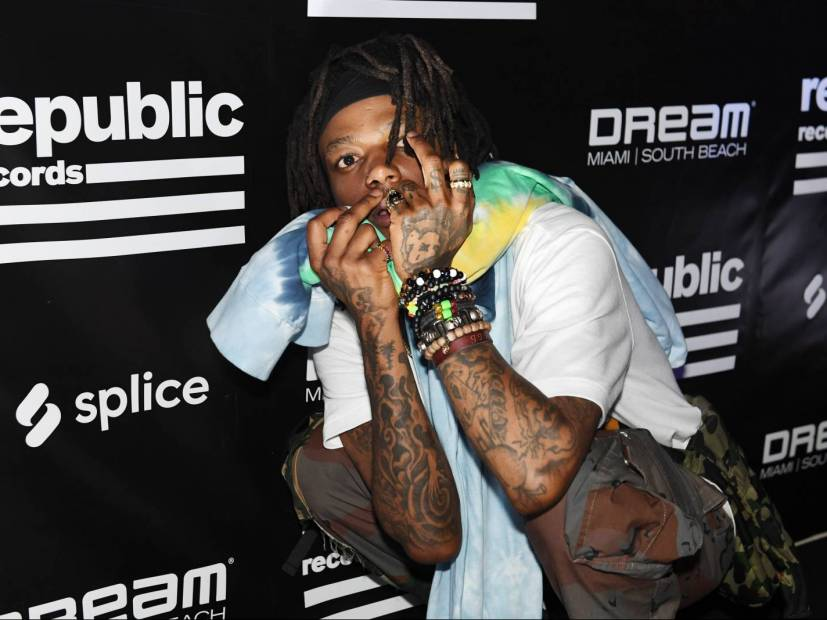 J.I.D., Kash Doll & Trippie Redd Turnt Up At Republic Records 2019 Rolling Loud Event