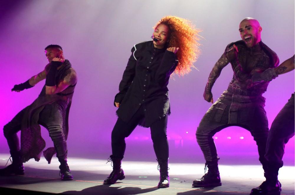 Janet Jackson Draws Queen Latifah, Eve & More to 'Metamorphosis' Residency Opening in Las Vegas