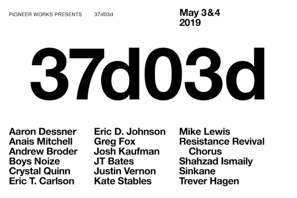 Justin Vernon & Aaron Dessner's 37d03d Festival Coming To Brooklyn