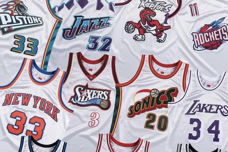 """Mitchell & Ness Launch """"Platinum Collection"""" Of Classic NBA Jerseys, Shorts"""