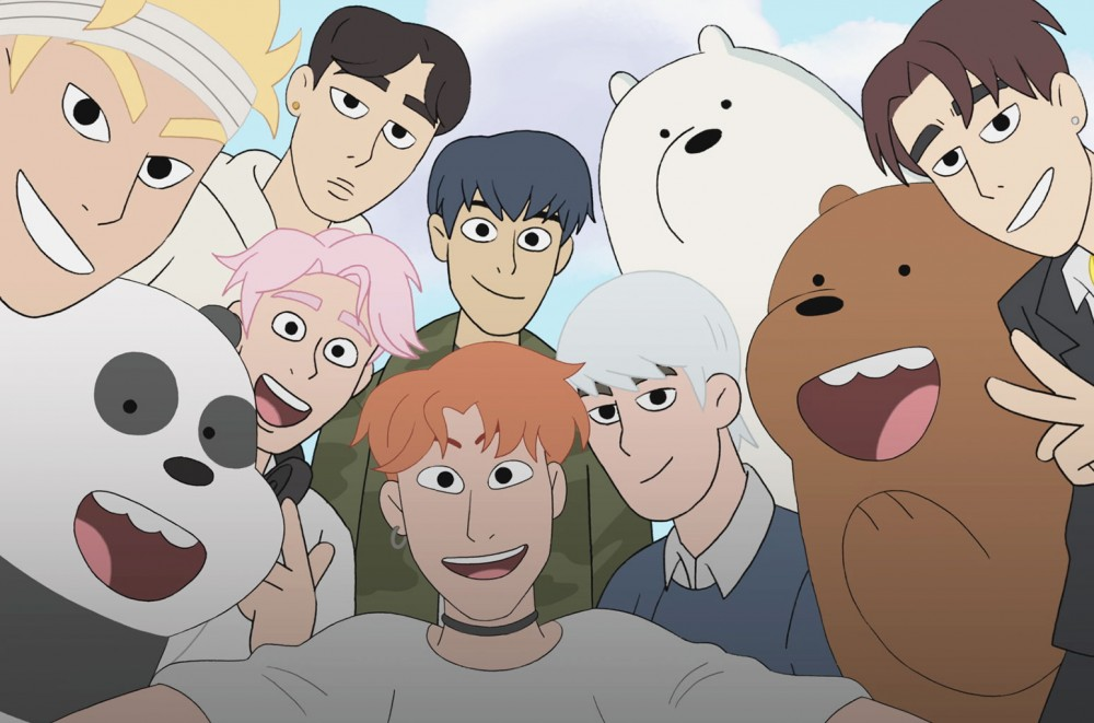 Monsta X Gets Animated For Cartoon Network's 'We Bare Bears': Exclusive
