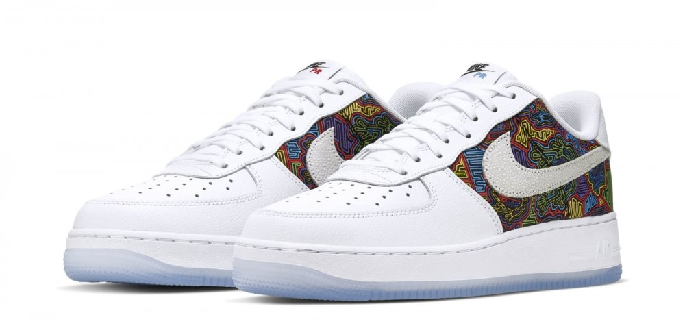 """Nike Air Force 1 Low """"Puerto Rico"""" Comes With Colorful Mosaics: Details"""