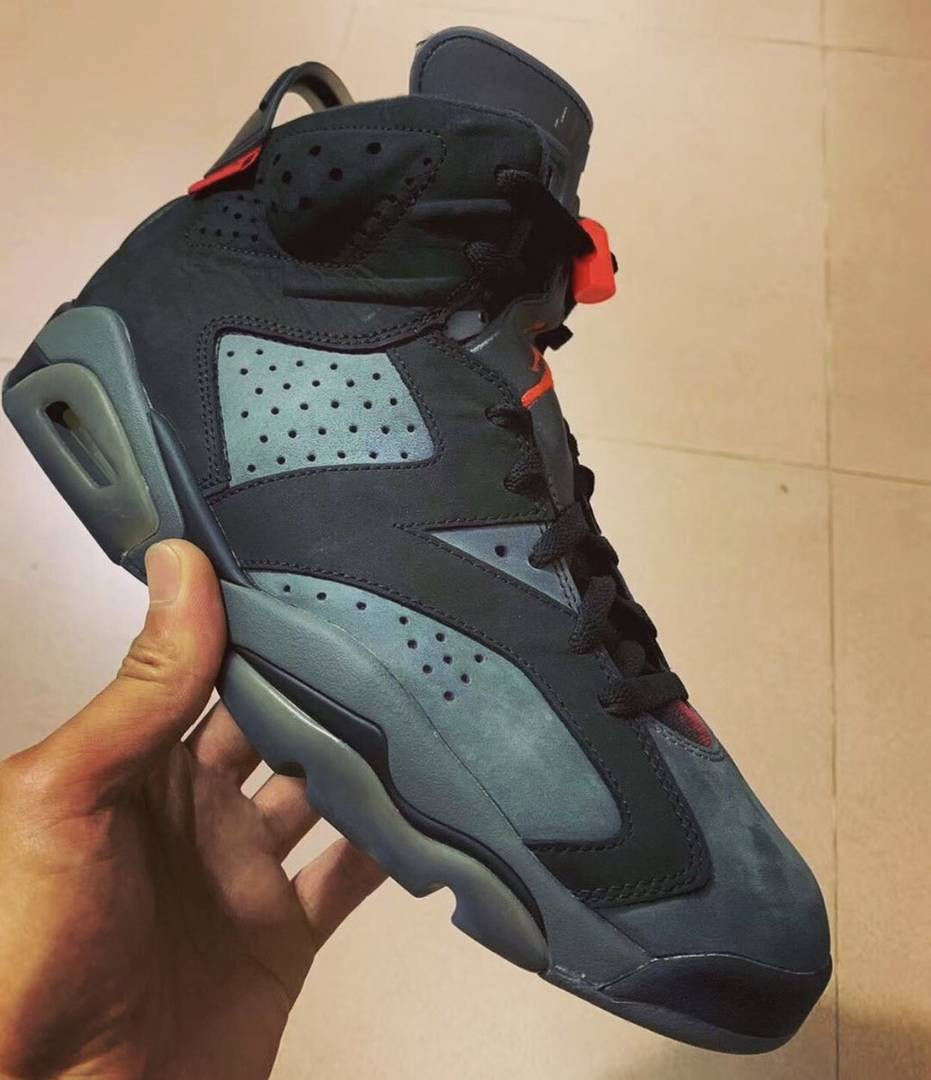 hot sale online 243be fe1e7 PSG Air Jordan 6 Collab Rumored For This Summer: First Look ...