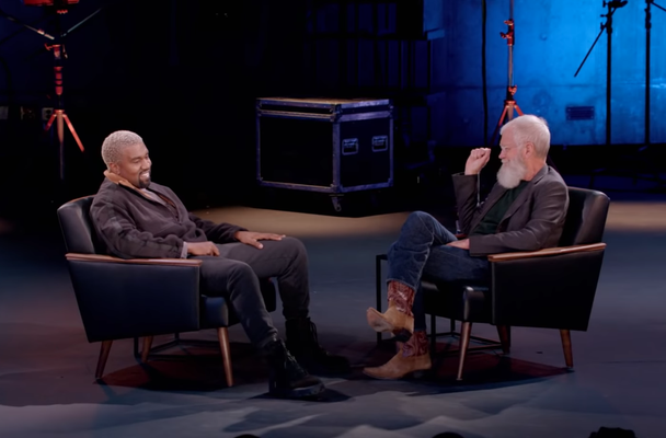 Preview David Letterman's Interview With Kanye West