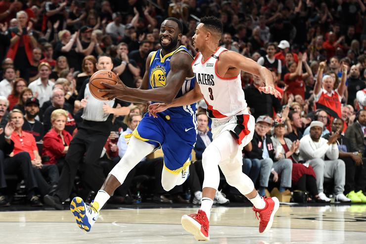 "Steve Kerr Credits ""Wrecking Ball"" Draymond Green With Warriors' Game 3 Win Game"