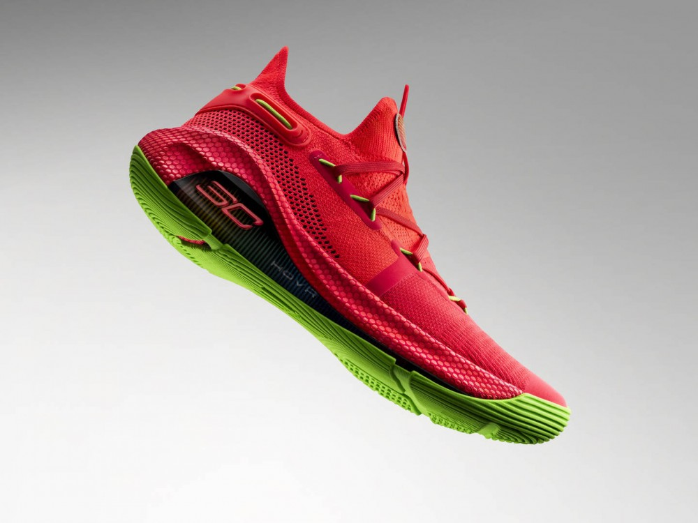 """Under Armour Curry 6 """"Roaracle"""" Colorway Nods To Warriors' Oracle Arena"""